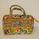 Vera Bradley Lunch Date Provençal insulated camera travel cosmetic case  NWT retired