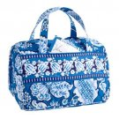 Vera Bradley Lunch Date insulated tote travel cosmetic case Blue Lagoon cosmetic case NWT Retired