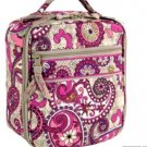 Vera Bradley Lunch Break insulated travel bottle lunch tote Paisley Meets Plaid  NWT