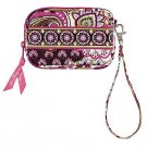 Vera Bradley Tech Case PDA small camera phone ID coin purse Very Berry Paisley  NWT