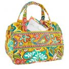Vera Bradley Lunch Date insulated food bottle travel cosmetic tote Provencal cosmetic case   NWT