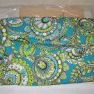 Vera Bradley Shoe Bag in Peacock  travel case Retired NWT packing case