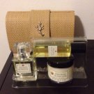 Crabtree Evelyn India Hicks Spider Lily Clutch Gift  EDT Wash Cream FS