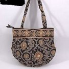 Vera Bradley Morgan Caffe Latte handbag purse tote shoulder bag • Retired NWT