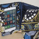 Vera Bradley Super Smart Wristlet in Ellie Blue • smartphone ID wallet  Retired iPhone 4 otter Box