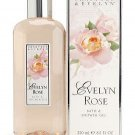 Crabtree Evelyn Bath & Shower Gel classic Evelyn Rose  8.5 oz 250 ml