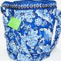 Vera Bradley Quick Draw cargo sling Blue Lagoon � bag gym beach tote NWT  carryon