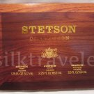 Stetson Cologne Collection 3 FULL SIZE • Original - Fresh - Rich Suede • Rare version! Free Ship