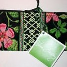 Vera Bradley Brush and Pencil Botanica travel cosmetic tech case NWT Retired