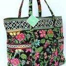 Vera Bradley Super Tote in Botanica  NWT Retired XL beachbag weekend overnight carryall diaper