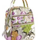 Vera Bradley Let's Do Lunch tote Portobello Road Retired NWOT travel cosmetic insulated bottle bag