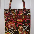 Vera Bradley Slim Tote Puccini  shopper tablet folio magazine  bag e-book reader case