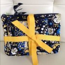 Vera Bradley Cosmetic trio makeup cases Ellie Blue  NWT Retired HTF elephants