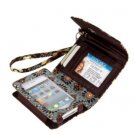 Vera Bradley Super Smart Wristlet Canyon brown smartphone ID wallet Retired NWT iPhone 4 5