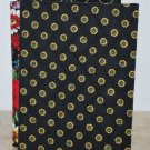 Vera Bradley Double Photo Picture Frame Vibrant Black FS freestanding  Retired album