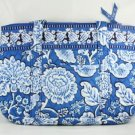 Vera Bradley Betsy Blue Lagoon shoulder bag handbag tablet e-reader tote NWT  Retired