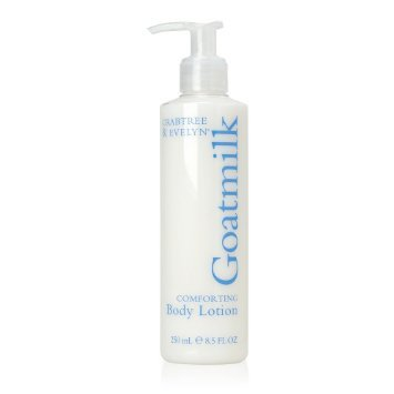 Crabtree Evelyn Goatmilk comforting Body Lotion UNboxed   8.5 oz / 250 ml original version