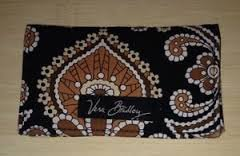 Vera Bradley Card holder Caffe Latte  business ID credit card case -  Retired