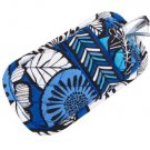 Vera Bradley Double Eye Blue Bayou  eyeglass case  NWT