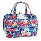 Vera Bradley Lunch Date in Summer Cottage insulated travel cosmetic tech case NWT Retired VHTF