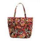 Vera Bradley Vera tote Puccini XL shoulder overnight NWT Retired beachbag carryon overnight weekend