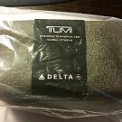 Tumi Delta Airlines Business Class Amenity Kit travel tech toiletry cosmetic case