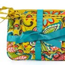 Vera Bradley Cosmetic Trio Provencal  travel cosmetic bags tech cases NWT Retired