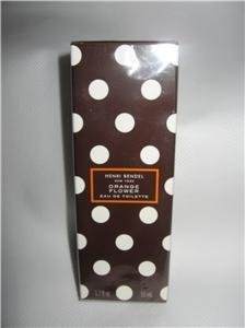 Henri Bendel Orange Flower Eau de Toilette Bath Body Works 1.7 oz Disc