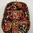 Vera Bradley Large Backpack  Puccini  bookbag laptop carryon weekend  NWT Retired