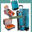 """eBags Mother Lode Jr TLS 25"""" Wheeled Duffel Junior Tropical Turquoise rolling luggage NWT"""