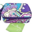 Vera Bradley Travel Pill Case HEATHER 7 Day + bonus compartment medicine organizer NWT