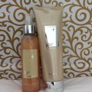Crabtree Evelyn Body Wash + Shimmer Mist FS Vanilla Blanc perfumed veil spray Disc'd
