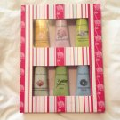 Crabtree Evelyn Hand Therapy Sampler • Six purse size 0.9 oz / 25ml gift boxed