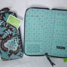 Vera Bradley Travel Organizer zip around wallet Java Blue FS NWT Retired - clutch  passport case