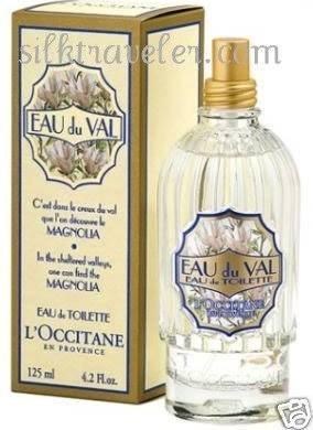 L occitane Magnolia EDT+ Solid Perfume tin FS Eau de Toilette huge 4.2 oz 125 ml