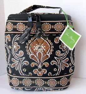 Vera Bradley Cool Keeper Caffe Latte FS insulated bottle travel cosmetic snack lunch � NWT Retired