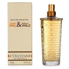 L'occitane Honey Vanille Eau de Toilette FS  ltd ed. Miel and Vanilla Disc  perfume