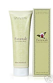 Crabtree Evelyn Sarawak Creamy Body Wash FS bath shower gel NIB Disc'd