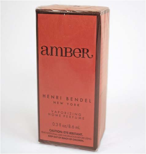 Henri Bendel Amber Home Perfume Vaporizing Oil X2  FS Bath Body Works  0.3 oz diffuser