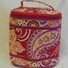 Vera Bradley Cool Keeper Rasberry Fizz FS insulated travel cosmetic snack lunch • NWT Retired