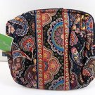 Vera Bradley Large Cosmetic Kensington travel cosmetic tech case NWT Retired