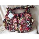 Vera Bradley Cargo Sling crossbody hobo purse Puccini   hipster swing bag purse  NWT Retired