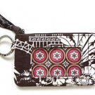 Vera Bradley Imperial Toile Zip ID Case FS NWT Retired coin purse credit card wallet lanyard purse