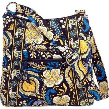 Vera Bradley Hipster Ellie Blue     NWT crossbody shoulder bag tote