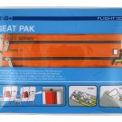 Flight 001 Seat Pak  Orange • travel in-flight organizer case seatpack accessory zip clutch