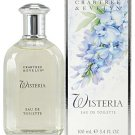 Crabtree Evelyn Wisteria Eau de Toilette original classic version  FS 3.4 oz. perfume  Disc'd