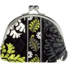 Vera Bradley Double Kiss coin purse in Baroque  - small clutch makeup tech case