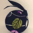Vera Bradley retractable Tape Measure Ltd Ed retired    Floral Nightingale