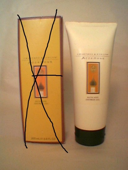 Crabtree Evelyn Azzemour Bath Shower Gel  6.8 oz UNboxed  tube version - rare