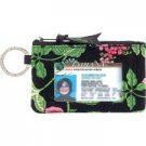 Vera Bradley Zip ID Case Botanica  coin purse credit card  small wallet retired
